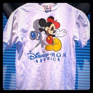 UNISEX Vintage 80s Disney Mickey MGM Studio Tee